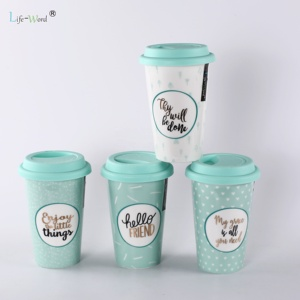 2019 Outdoor high quality Customized Printed flamingo enamel camping mug enamel product