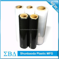 China supplier pe pallet wrapping plastic roll stretch film manufacturers