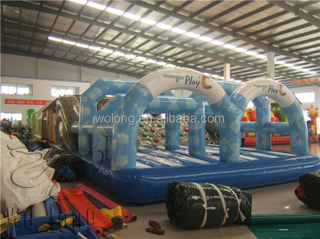 inflatable obstacles / inflatable courses / obstacle games