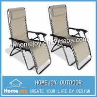 Top quality zero gravity outdoor chair, folding recliner chair, patio lounge chair