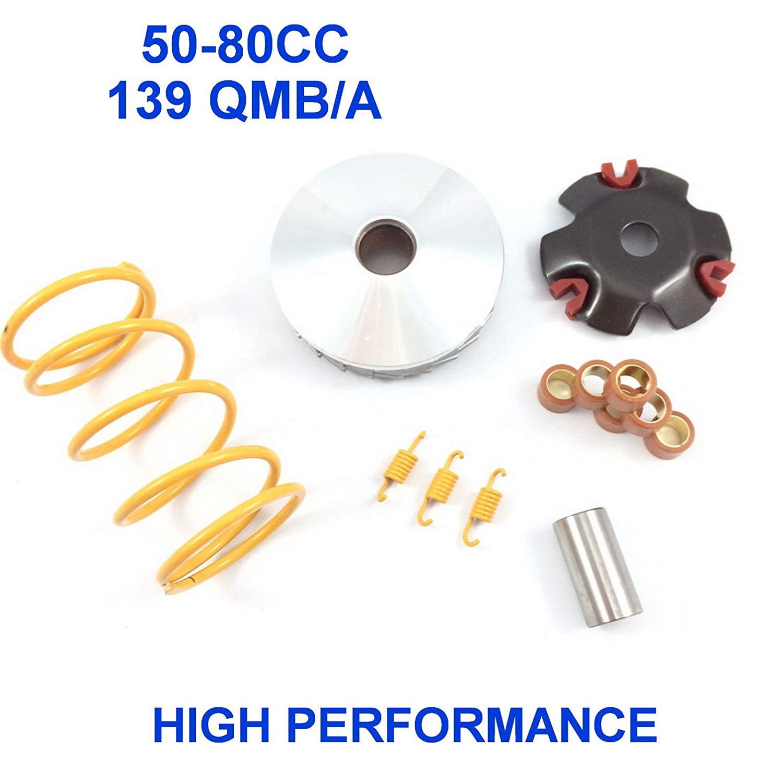 Hoca 169-316 1500 RPM Clutch Springs for 50cc 4 stroke QMB139 Engine