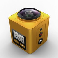 1chip 360 panoramic camera with allwinner V3 DSP 16mp resolution