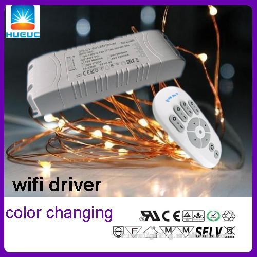 500ma 40V constant voltage dimming color changing outdoor led power supply 20W