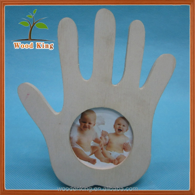 Creative Wooden Crafts Mini Baby 12 Month Photo Frame