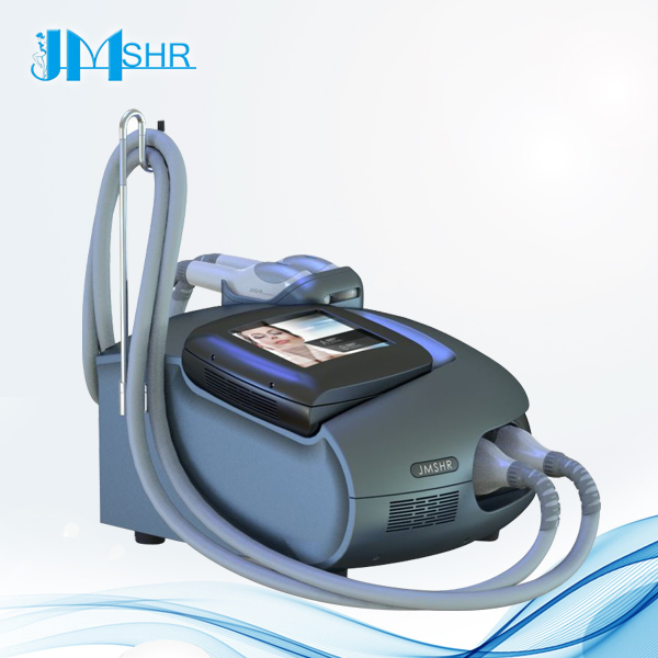 2 heads portable ipl home laser hair removal machine