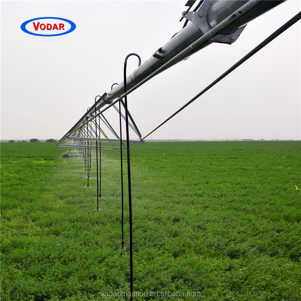 VODAR Competitive Price Central Pivot Farm Irrigation Machine Used In Large Field