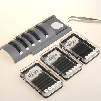32337ee2ef1 Tray Eyelash Extension Black Lashes Customized 3d False Eyelashes ...