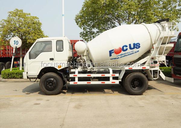 3m3 4m3 Mini Concrete Truck Mixer Concrete Mixer Truck