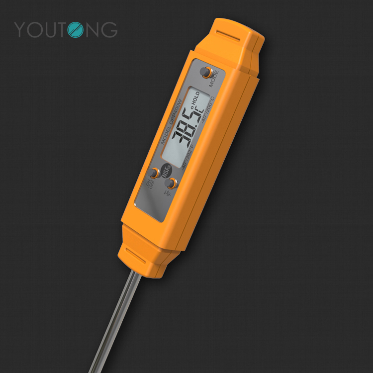 YT67115 Quick Read Digital Probe Barbecue Meat Thermometer with Low Power Detection
