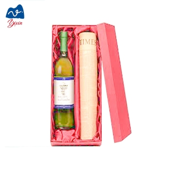 DIY handmade paper box/packaging gift box/champagne packaging box
