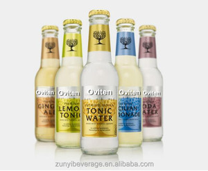 delicious Tonic/Ginger 275ml glass bottle Carbonated Drink