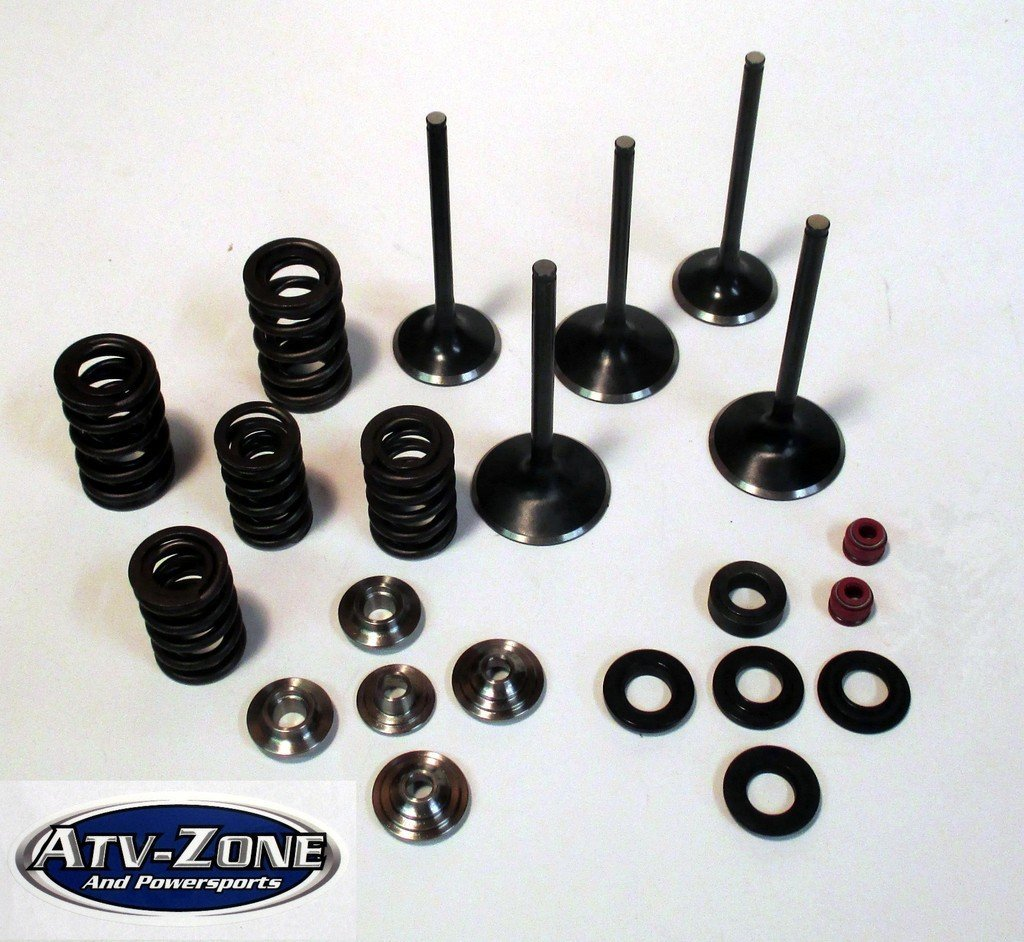 Get Quotations · Stainless Steel Intake and Exhaust Valves with Spring Kit  Yamaha YZ 250F 2001-2013