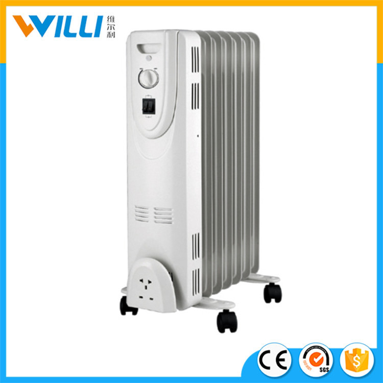 2000W Homeuse electric oil filled heater with easy change tube system