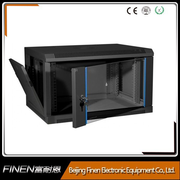 "19"" good looking server cabinet wall mounted rack easy to assemble"