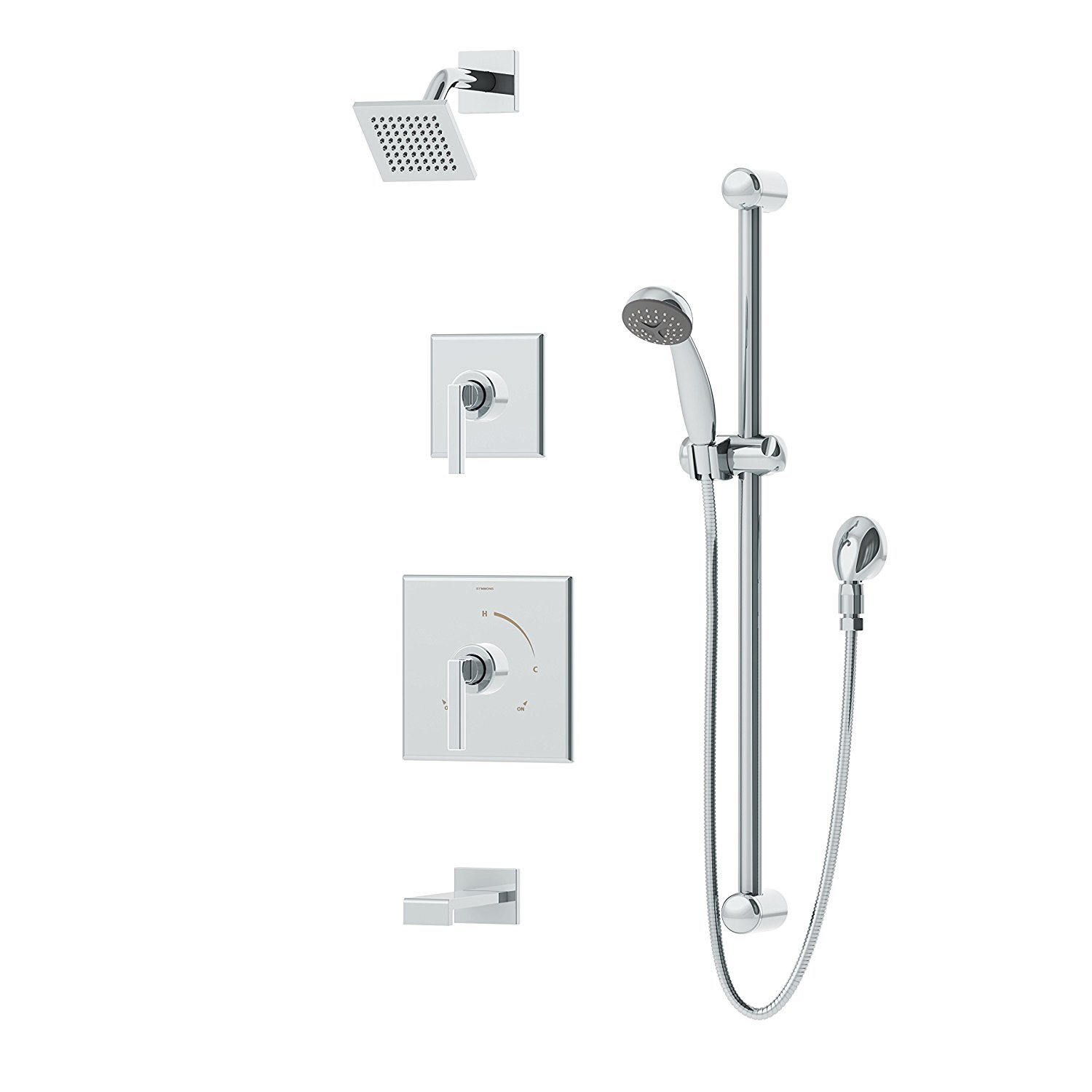 Buy Symmons Sy37210 Chrome Tub And Shower Faucet Handle In