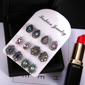 Fashion ear cuff earrings for Women stud earrings set Wholesale N800328