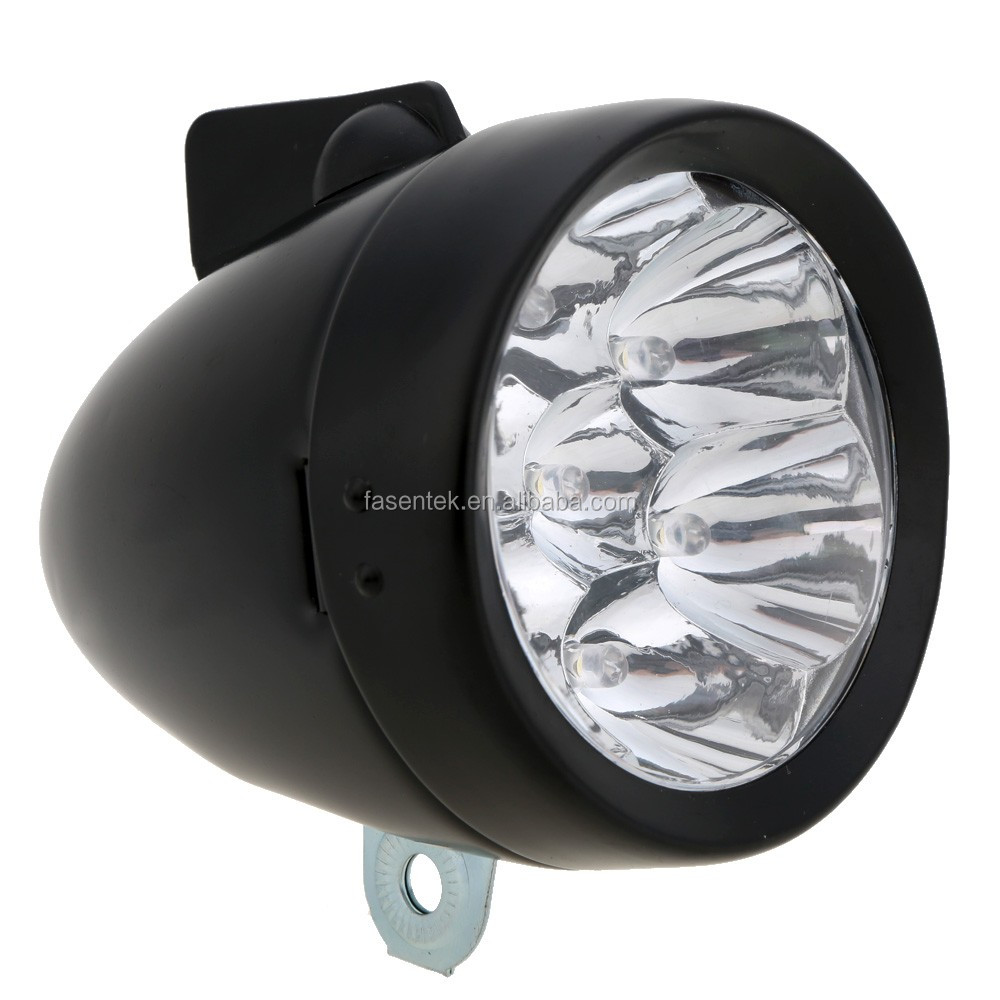 metalen retro fiets voor head light waterdichte zaklamp fiets 7 led koplamp koplamp led lamp lumen