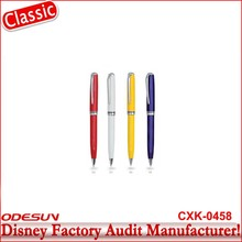 Disney Universal NBCU FAMA BSCI GSV Carrefour Factory Audit Manufacturer New Arrival Custom Ball Pen Topper