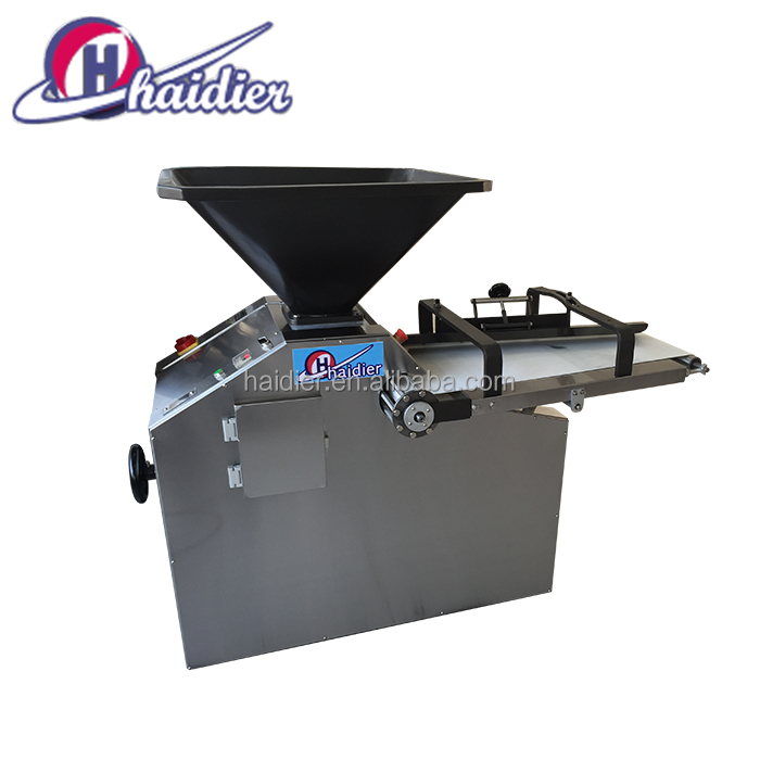 Continuously Widely Ranged Dough Divider And Rounder Machine
