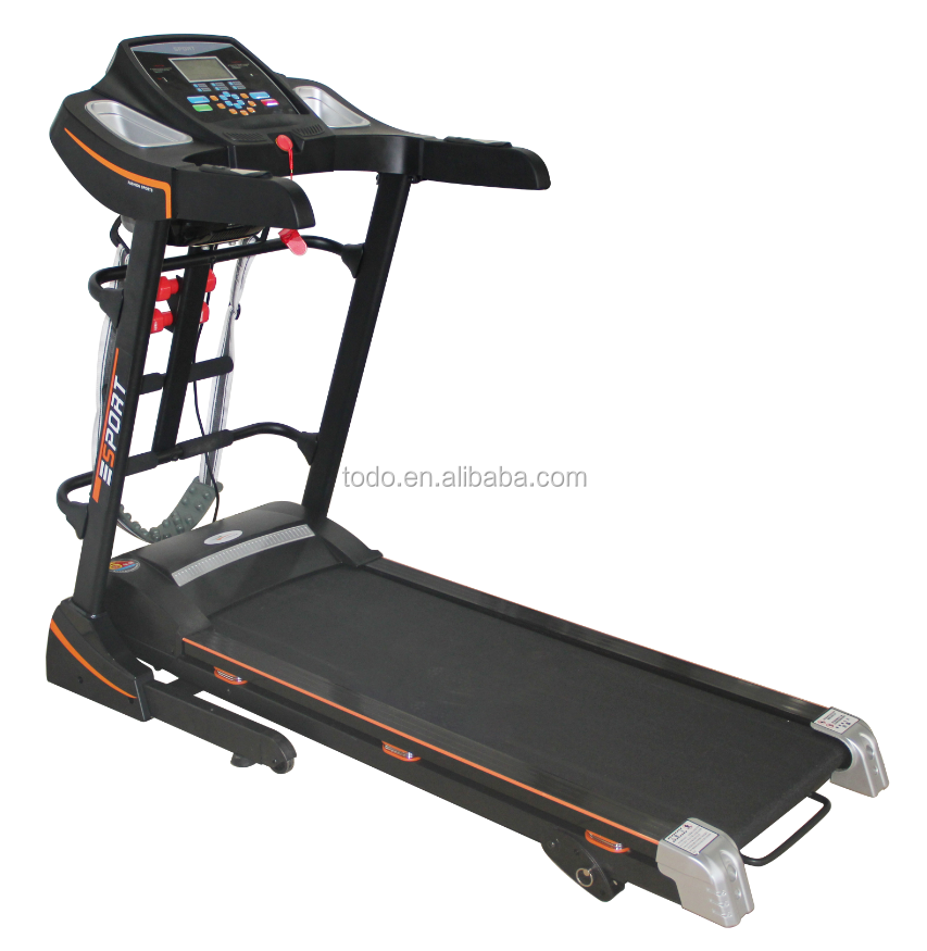 New cardio <strong>Fitness</strong>/Gym Equipment/machine TODO Self-generating Auto Incline Electric Treadmill with touch screen