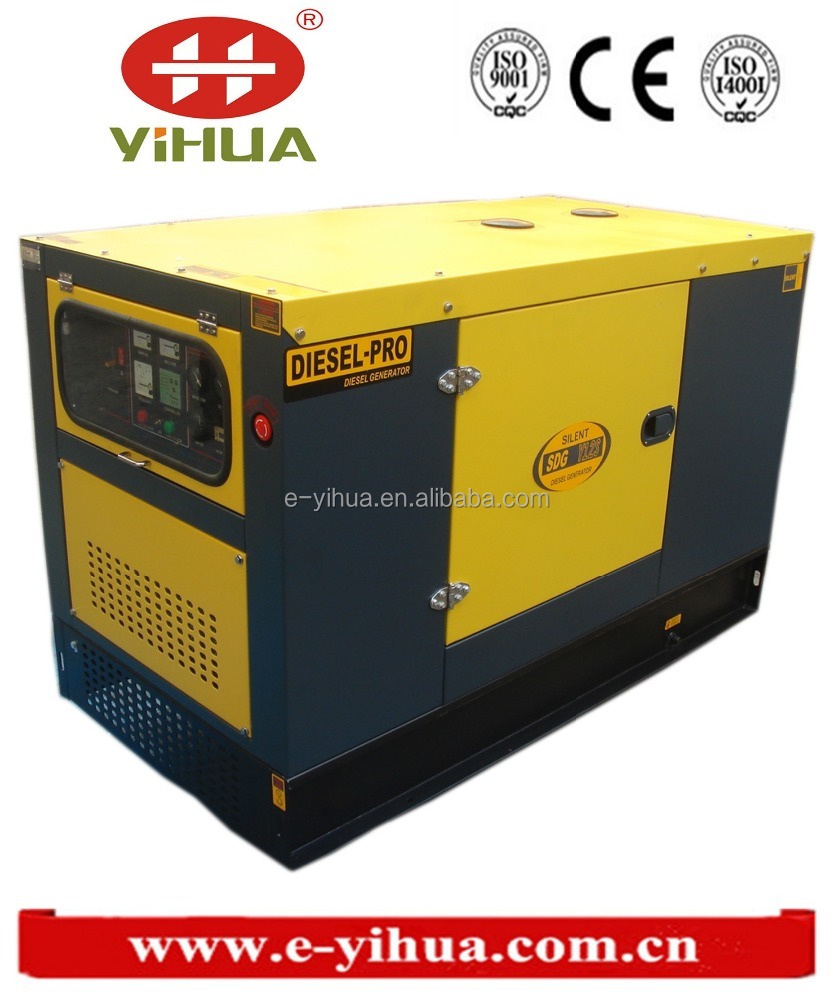 Yihua high quality china supplier diesel engine series magnet generator 68kw with ATS function