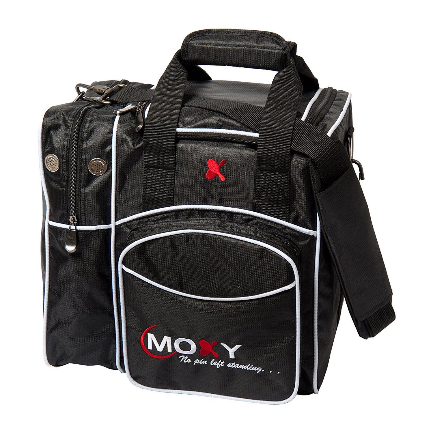 Moxy Deluxe Single Tote Bowling Bag (Black)