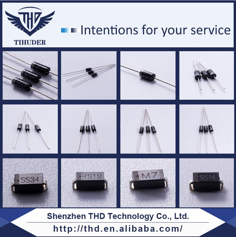Best - selling Silicon Plastic Rectifier Diode 1N4003