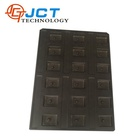 Customized high quality vacuum forming black blister packaging plastic electronic packaging tray