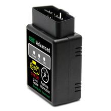 OBD2 <span class=keywords><strong>ELM327</strong></span> V1.5 Bluetooth Car Scanner Android Torque Diagnostico Scan Tool con 25K80 chip