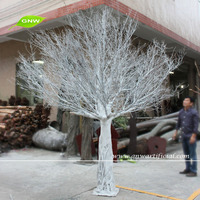 WTR1103 GNW 10ft high white artificial dry tree for fashion runway decoration