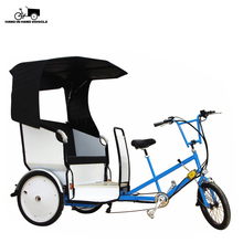 Made in China 3 ruota adulto <span class=keywords><strong>triciclo</strong></span> 2 posti passeggeri <span class=keywords><strong>pedicab</strong></span> taxi bike for sale in filippine
