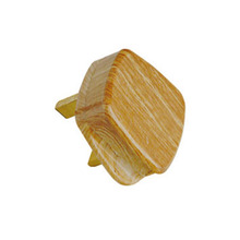 Best quality promotional hollow brass power plug pin