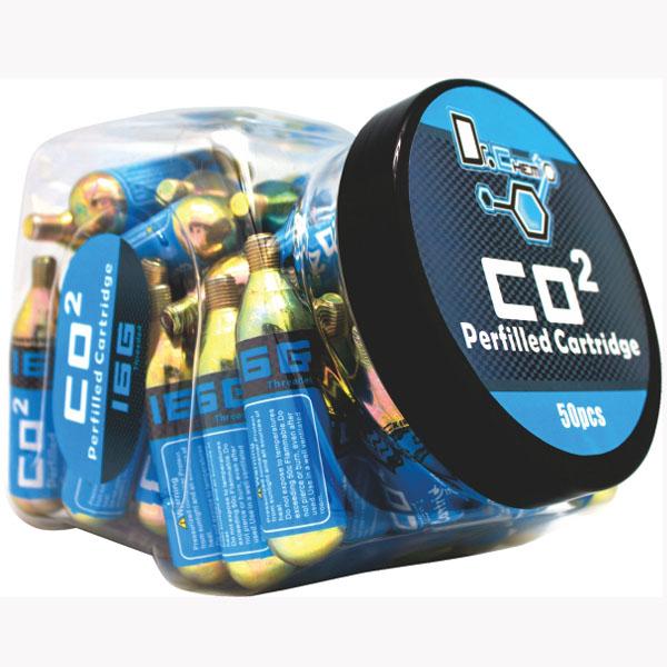 5 Pack Genuine Innovations 16g Threaded CO2 Cartridges