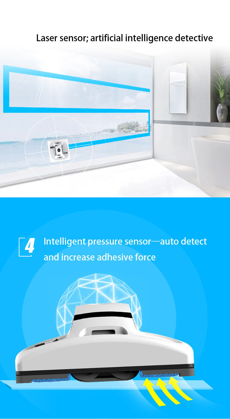 2019 OEM Remote Control Window Cleaner Robot