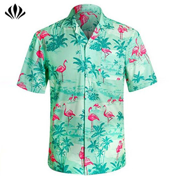 38d23699 Wholesale mens clothing custom tropical printed short sleeve men hawaiian  polo shirt