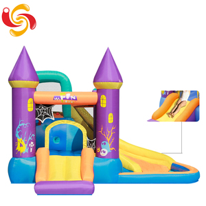 Factory inflatable jumping castle, playing toy castle inflatable bouncer
