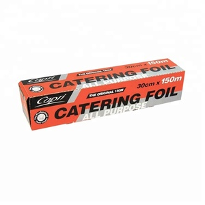 China OEM Brand Papel Aluminio Alu Foil for packaging food