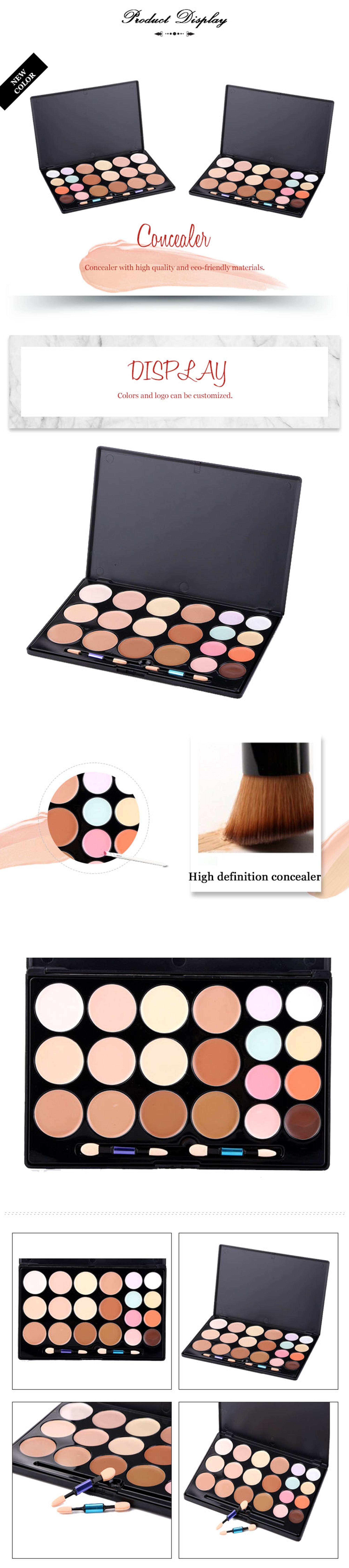 Best Selling Face Makeup Concealer 20 Color Name Brand Makeup Concealer