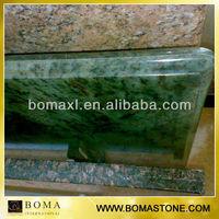 Ogee Edge Green Granite Veneer Countertop
