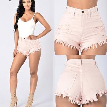 Chaude Mode Nouvelle Américain Style Taille De À Haute Femme Short 5d5wq4rIx