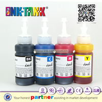 T6641 T6642 T6643 T6644 compatible epson printer ink bottles with 70ml ink