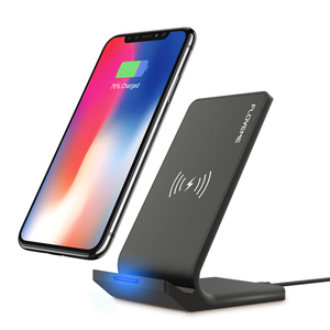 Free Shipping 10W Qi Wireless Charger FLOVEME Table Phone Holder for Smart Phones Fast Wireless Charger