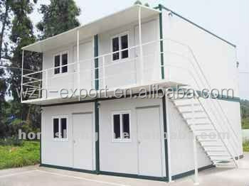 Cheap price two story container house sentry box mobile for Cheap two story houses