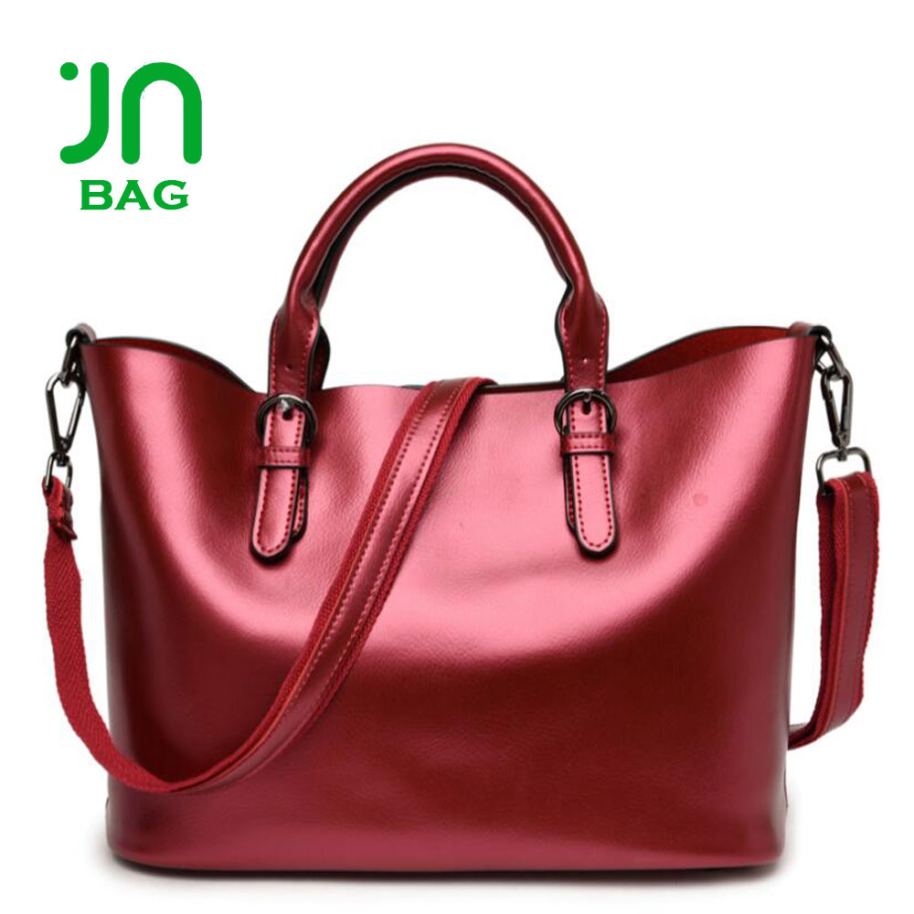 e73a5f32ef JIANUO genuine leather handbags ladies pure leather bags real leather woman  bag