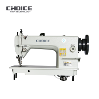 Golden choice GC-0303 Long Stitch Single Needle Heavy Duty Top & Bottom Feed Lockstitch Sewing Machine Walking Foot