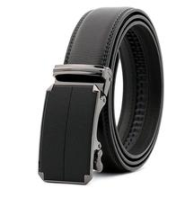 Simple design leather men belts