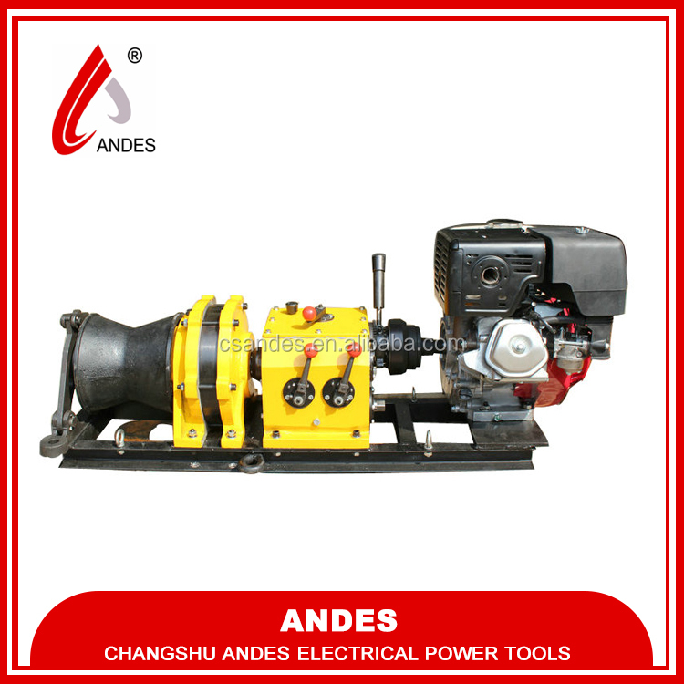 New Fast Engined Power Winch Honda/Yamaha Engine(shaft driving)