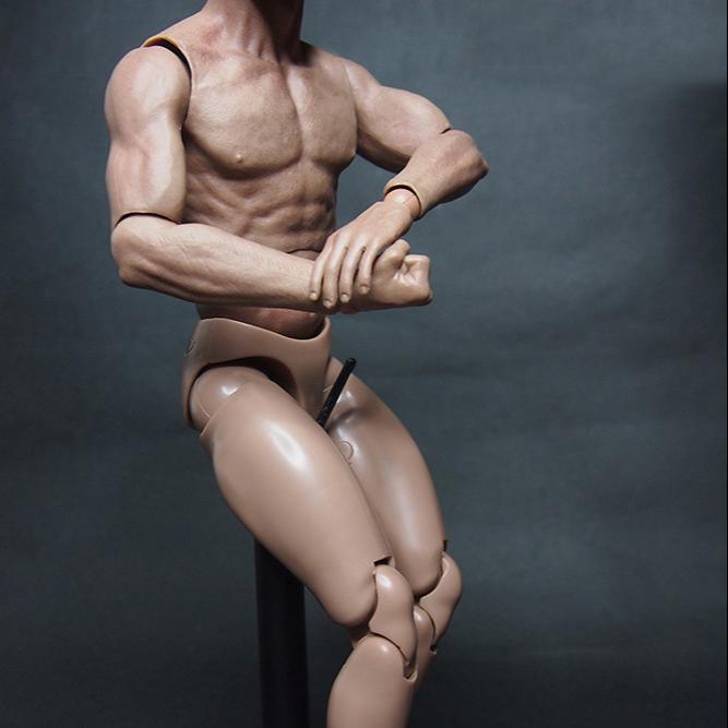 Mannelijke modellen naakten