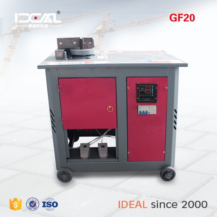 GF20 digital control automatic high speed automatic cnc stirrup wire bending machine for 4-12mm rebar