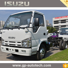 ISUZU 100P Light duty cargo Truck 4x2 truck chassis For Sale